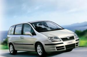 Fiat Ulysee 7 seater car hire
