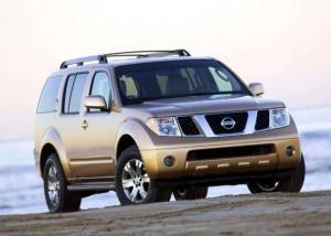 Nissan Pathfinder 7 seater car hire