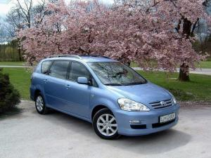 Toyota Avensis Verso 7 seater car hire