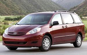8 Seater Car Hire >> Toyota Sienna 8 Seater Cheap Seven Seater Car Hire Car Rental
