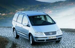 Volkswagen Sharan 7 seater car hire